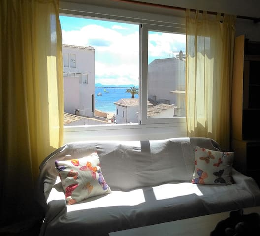 Soleado piso a 50m de la playa - Port de Pollença - Wohnung