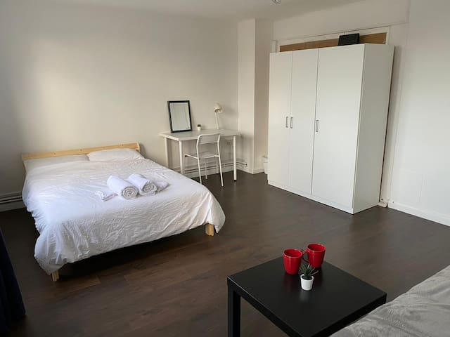 ★ Bright Double BR near Canary Wharf/Greenwich/02★