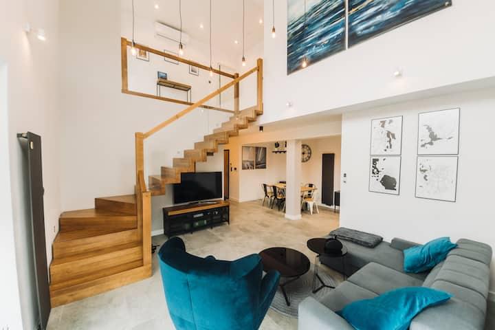 Giżycko Apartament dwupoziomowy z klimatyzacją
