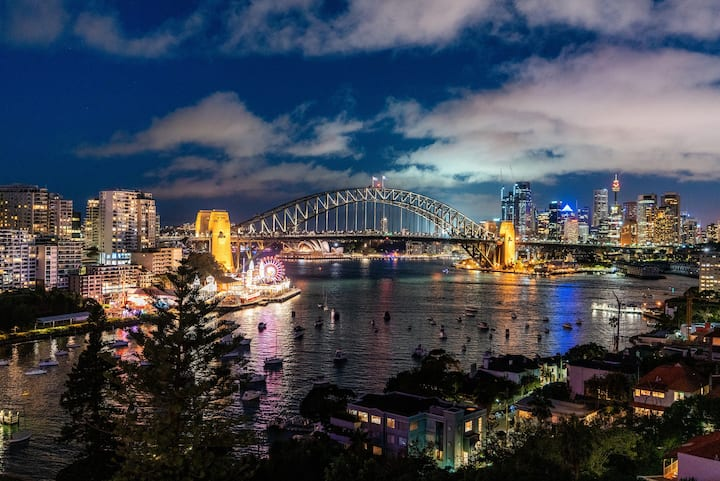 MLB38-Panoramic view Studio near Sydney Harbour