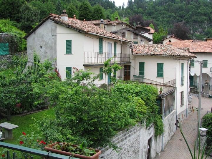 Near Bellagio and Ghisallo, at 750mt