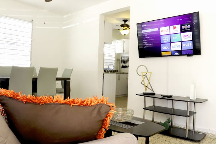 Airbnb Sagrado Corazón Monteflores Santurce Vacation