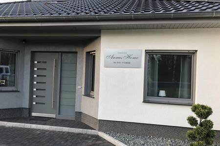 Neues Ferienhaus in 1.Reihe am Bernsteinsee