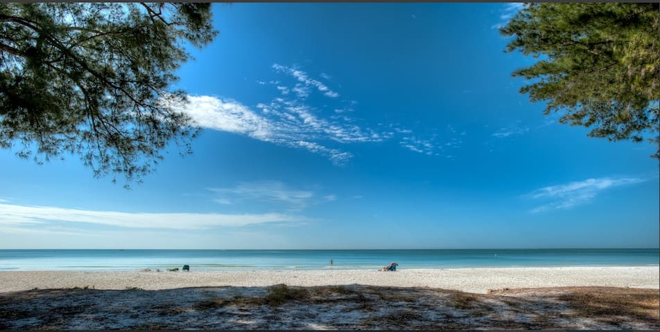 Anna Maria beachfront house - The Magnolia Lady