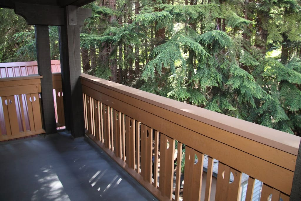 Take in the fresh mountain air from your private balcony