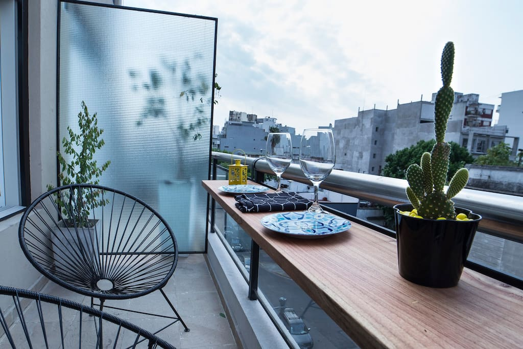 Spacious Balcony (City View)