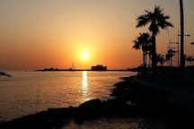 A Cypriot sunset
