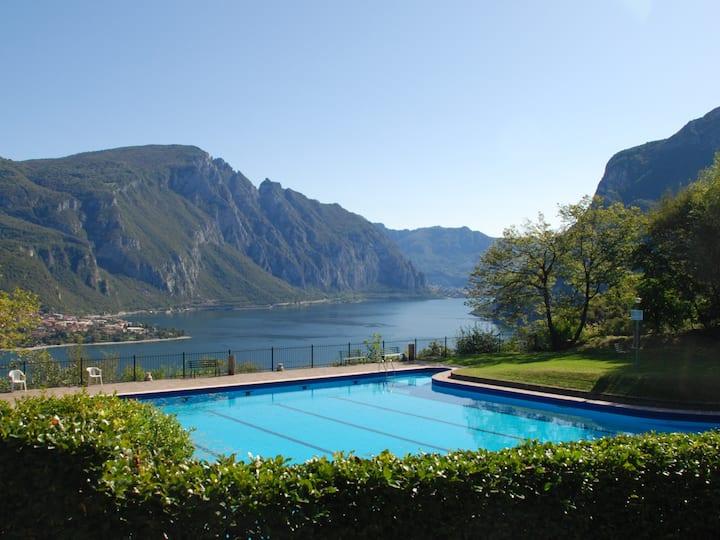 Nice view Como lake 4km to Bellagio