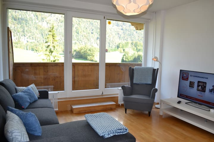 Bad Ischl-Nähe, Appartement fantastische Fernsicht