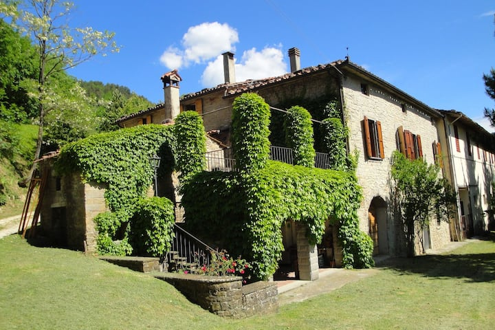 Sunny Holiday Home in Marradi between Vicchio and Bologna