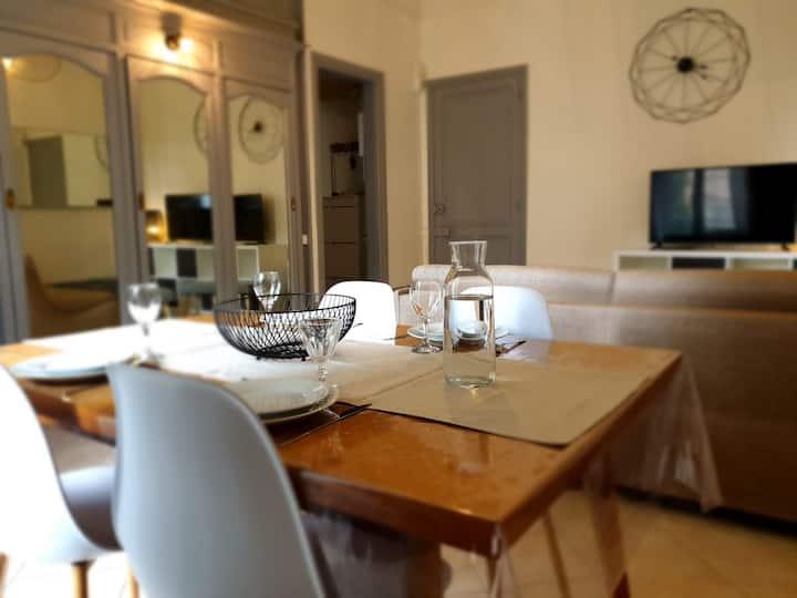 Grand T2 calme et cosy au « Pyrénées Palace »