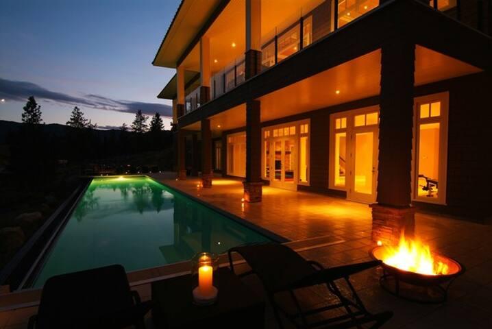 Nicola Lake vacation home