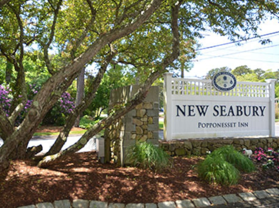 Entrance to New Seabury Community