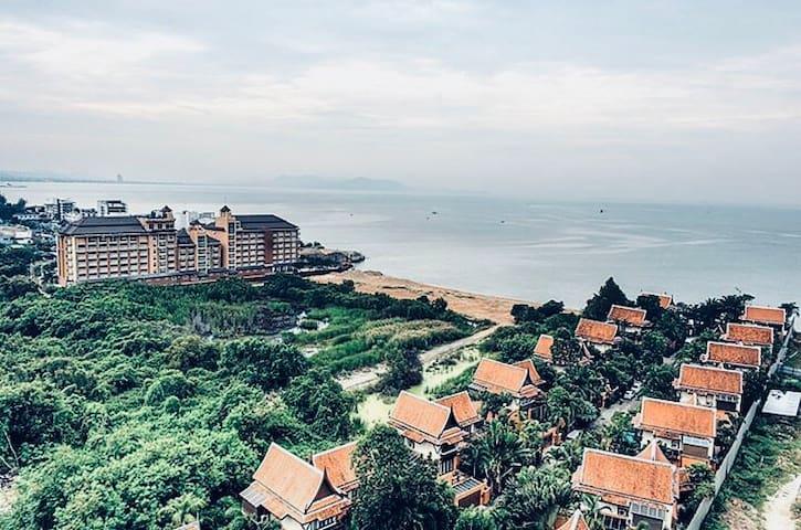 Студия с видом на море Nam Talay