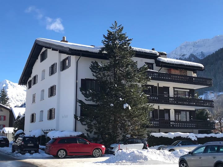 Alpine charm in central Klosters
