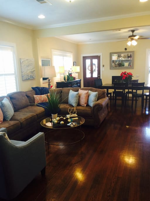 Large charming updated living space