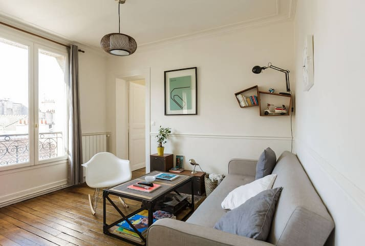 1 bedroom apartment in the heart of Bastille