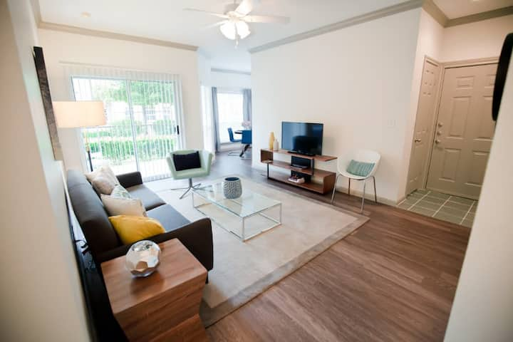 Live + Work + Stay + Easy | 1BR in Katy
