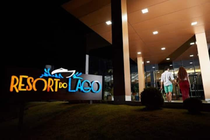 Resort do lago Flat - Pq. aquático - Caldas Novas