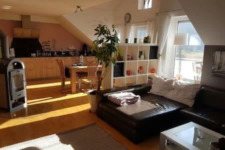 Idyllische Maisonetten-Dach-Wohnung - Lauchringen - Wohnung