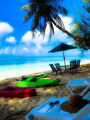 【E3】 BeachVilla honeymoon room 1BR+Bath+Kitchen