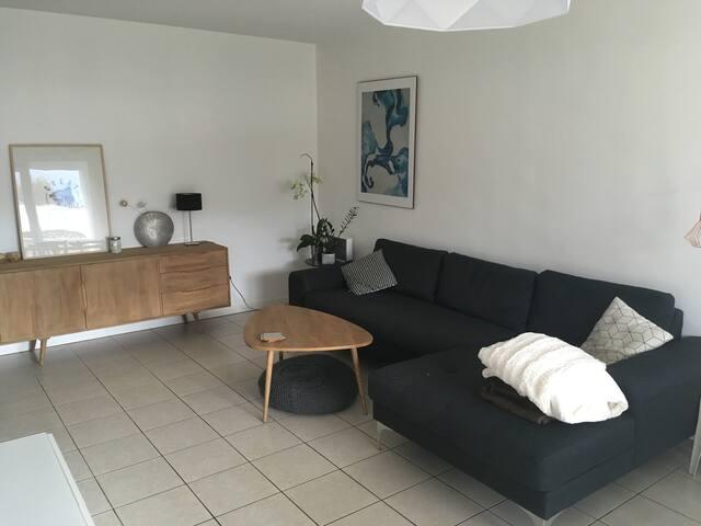 Bel appartement 2 chambres+terrasse près Grenoble