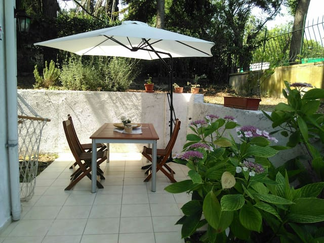 Garden flate in Prince islands, Heybeliada