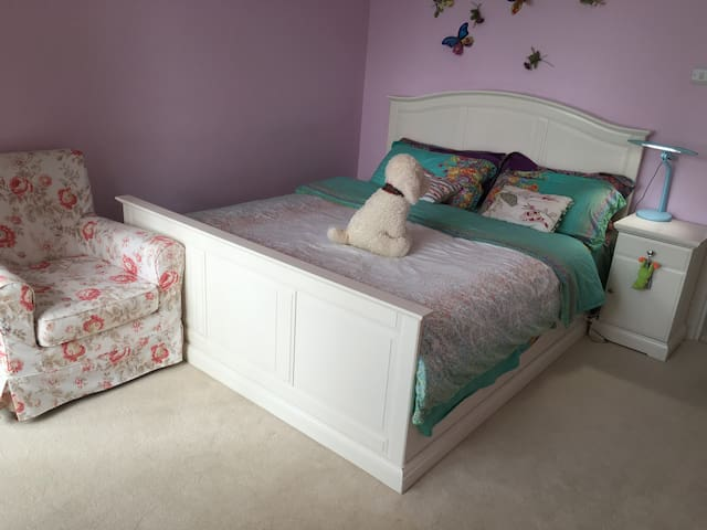 Nice double bedroom near Sutton station - Sutton