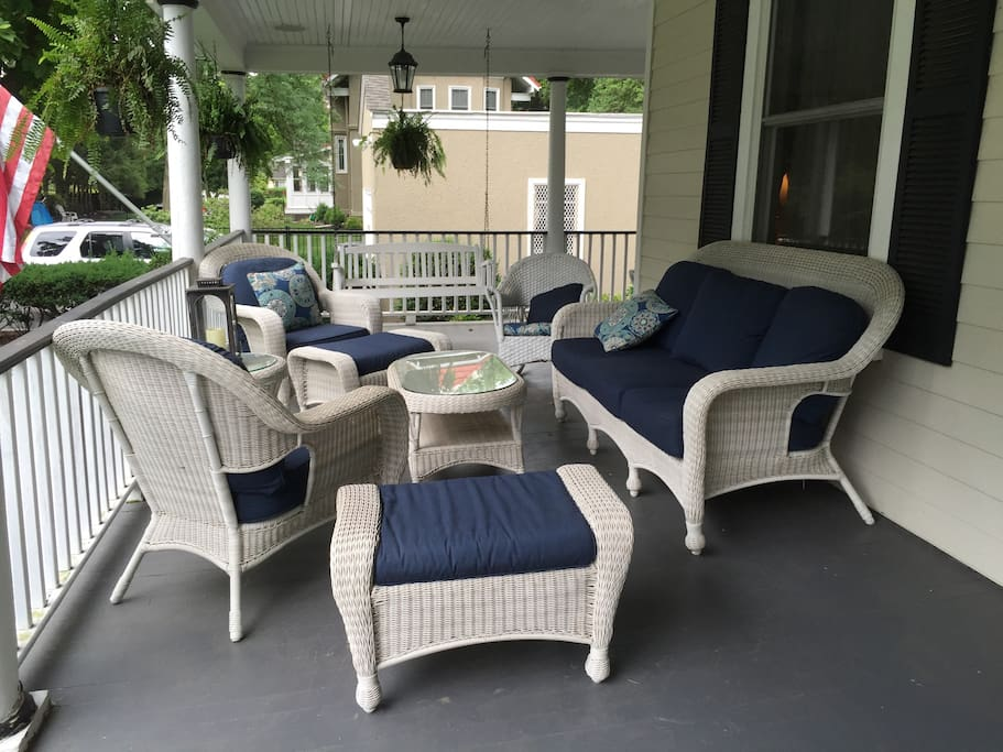 Relax on the wrap around porch