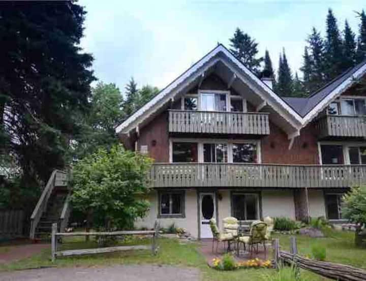 Cozy rustic cottage-Val-David