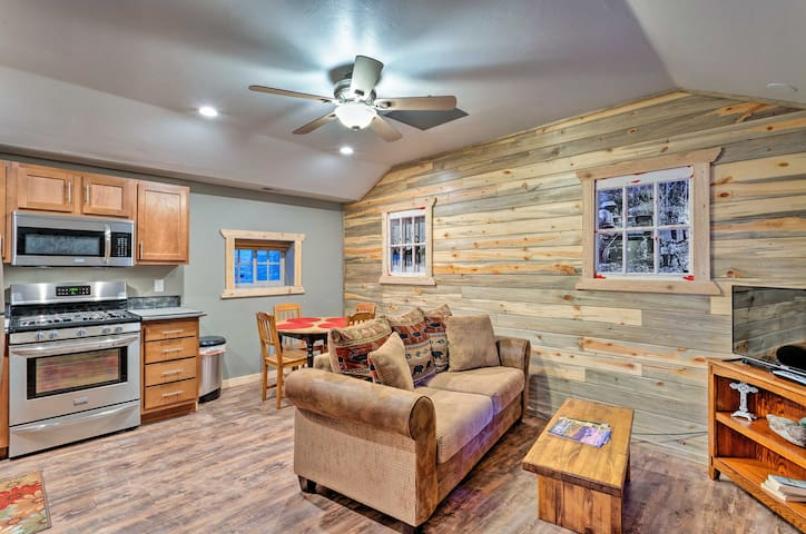 NEW! Inviting Ouray Rental Located on Main Street!