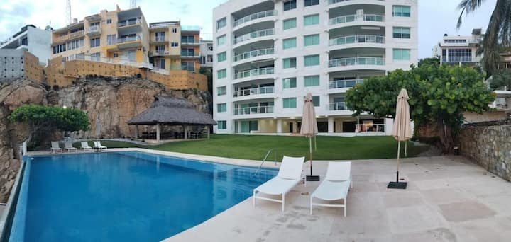 Exclusivo departamento en Acapulco. Playa Privada.