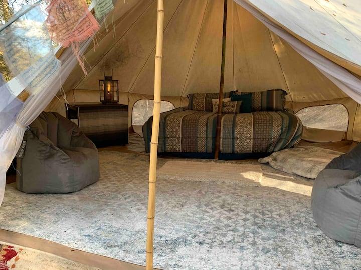 Mushroom Camp Yurt