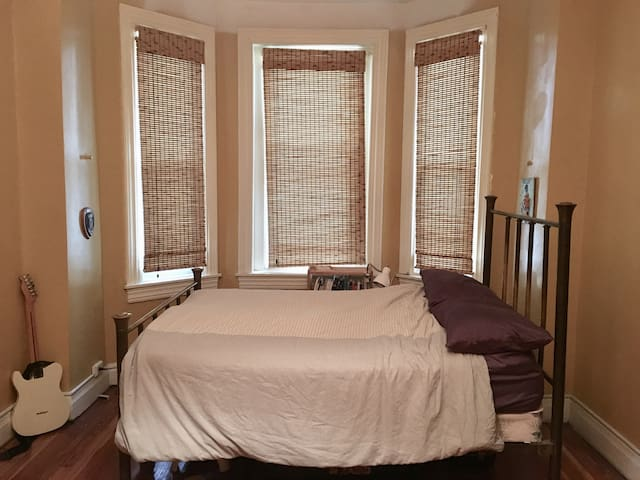 Private room in gorgeous Old Goucher row home