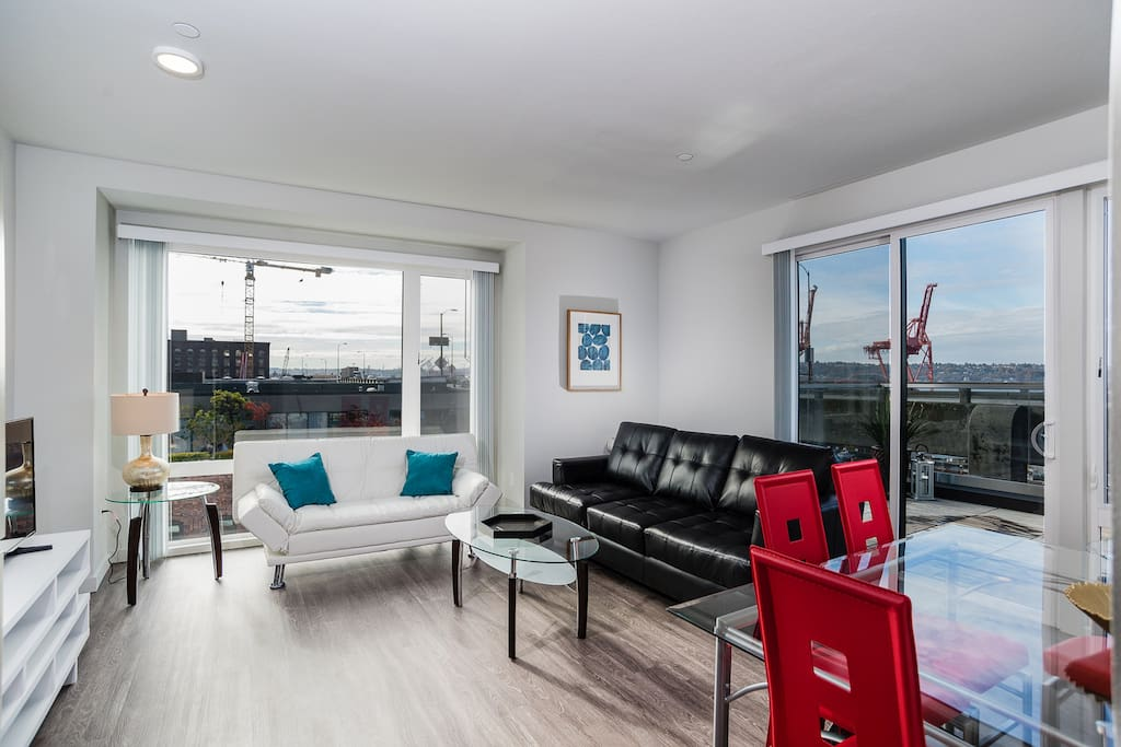 1 Bedroom Upscale Apartment in Downtown Seattle ...
