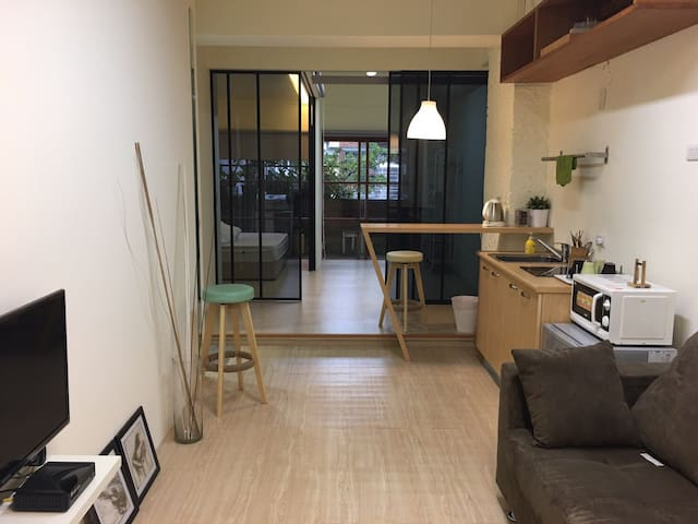 北歐An Ho suite room - Da'an District - บ้าน