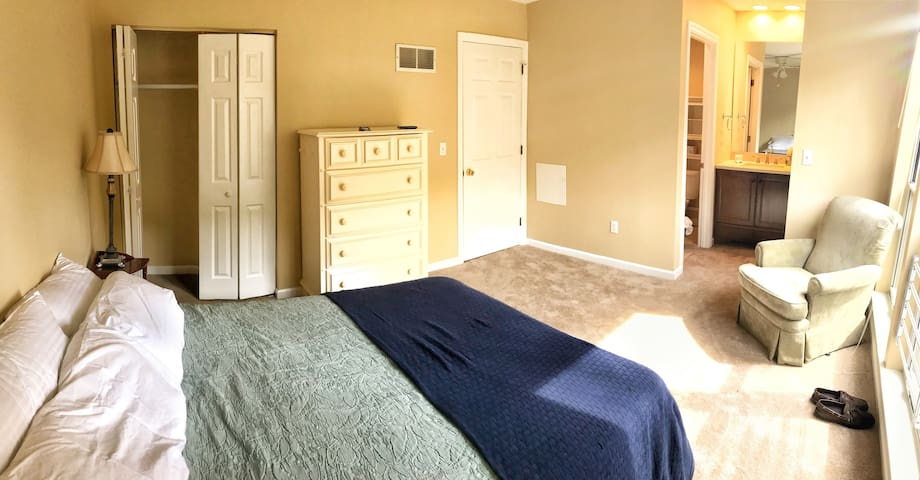 Spacious Room, Bath, and your own BONUS Floor!!