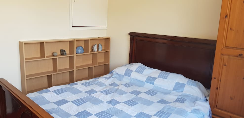 Convenient location - walking distance to town.