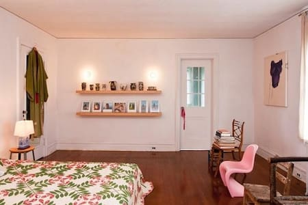 Landmark Home in Hudson- Master Bedroom