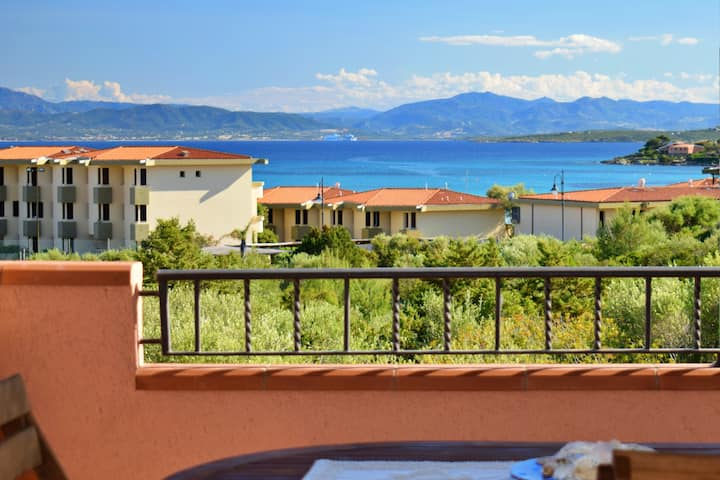 House Bellavista,  by the beach with sea view