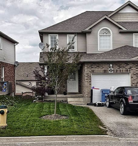 Bright & private unit, close to downtown Guelph