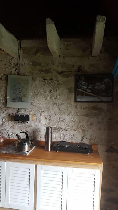 De kookgelegenheid