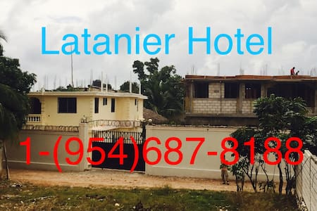 Latanier Hotel Bed and Breakfast !! - Jacmel