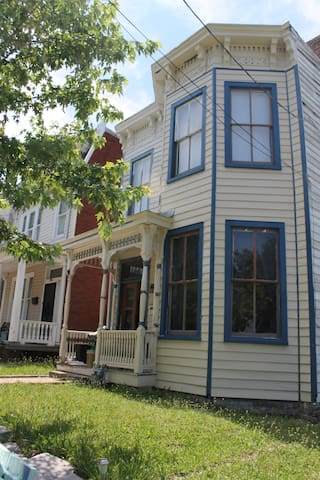 Restored Historic Churchill Victorian Bowfront