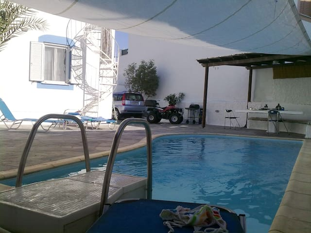ELIXIR-Downtown house with private pool. - Naxos - House
