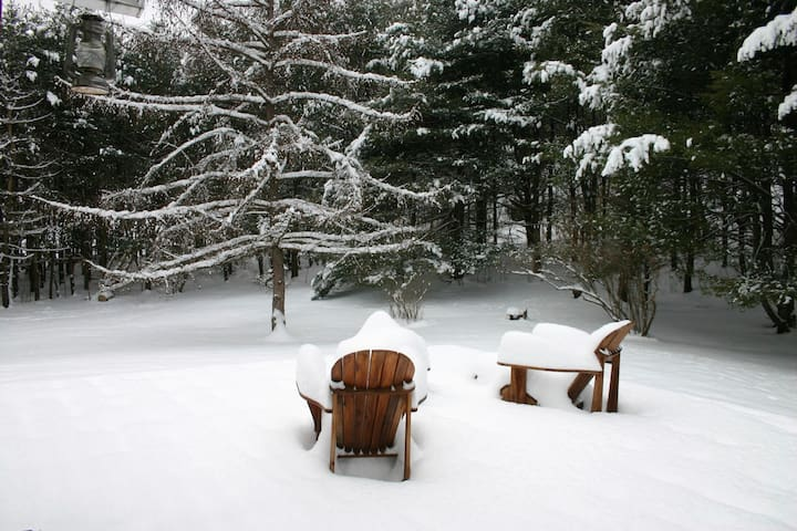 PrattChalet Peaceful 6 private acres in Catskills - Windham - Hus