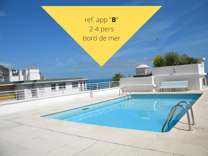 extremely well situated ap.(2-6p.) with pool
