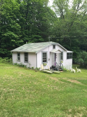 Cozy Summer Cottage in the woods w pool - New Paltz
