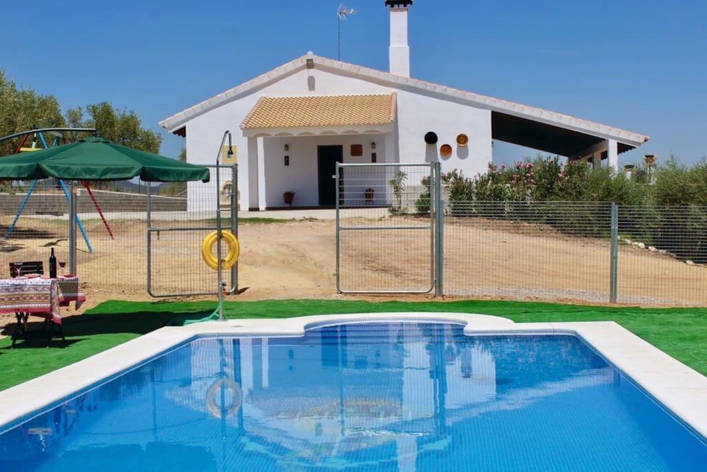 Casa rural sierra norte sevilla andalucia casas de for Alquiler de casas en la juliana sevilla