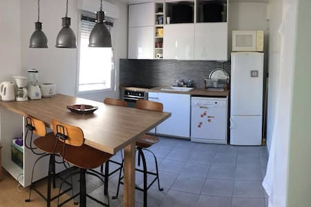 Compfortable flat with parking - Montreuil - Wohnung